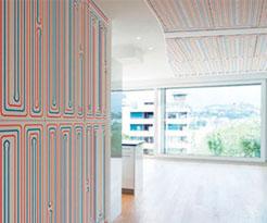 Impianto radiante a parete e soffitto