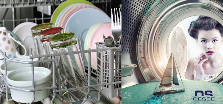 Come ridurre i consumi di lavatrice e lavastoviglie