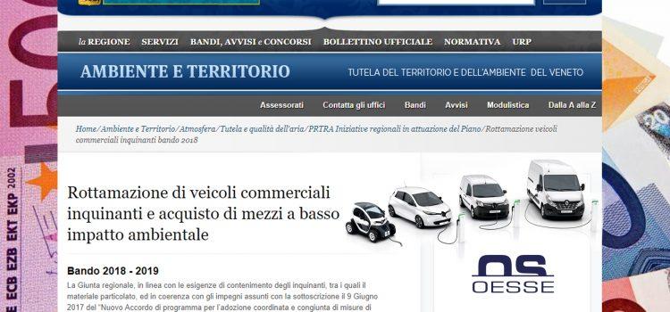Come ricevere un contributo di 10.000€ per la sostituzione di un veicolo