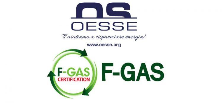 Cos'è la certificazione F-GAS