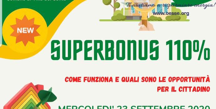 Superbonus 110%: siamo in LIVE