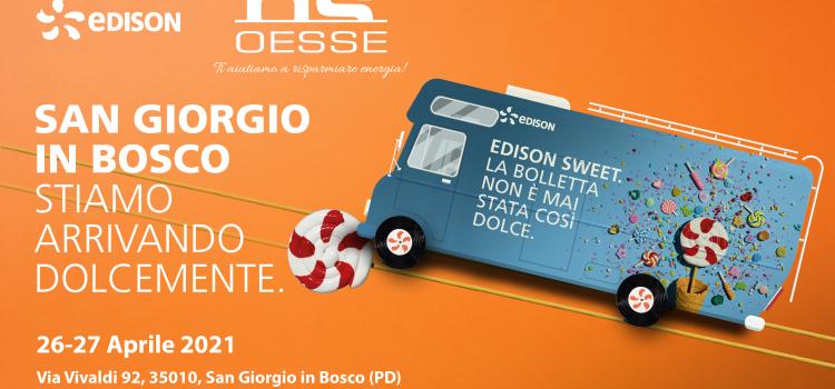 Evento OESSE con Edison a San Giorgio in Bosco